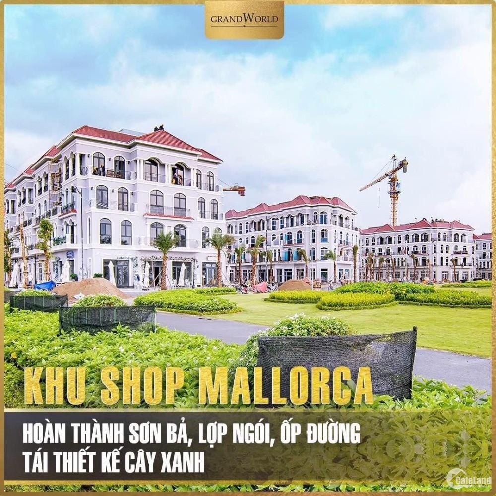Shop nhà phố thương mại nằm trong khu nghỉ dưỡng 5* Vinpearl 12 tỷ