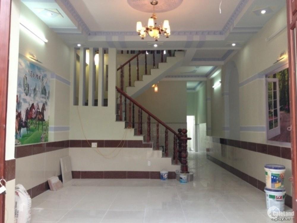 Bán nhà đường Phan Văn Mãng thị trấn Bến Lức từ QL1A đi vào 200m. SHR chính chủ