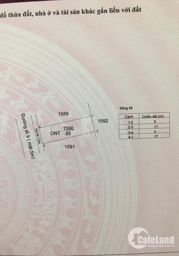 Khách gửi bán gấp lô đất 600tr, MT QL 50, Sổ Hồng Riêng