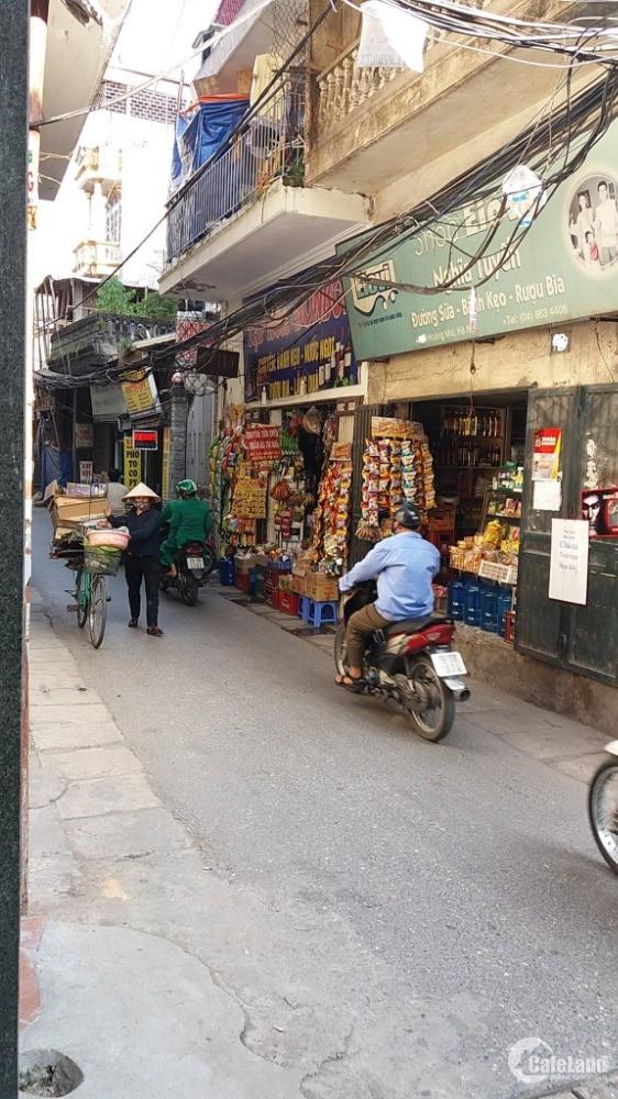 Bán nhà cấp 4 mặt phố Chợ Khâm Thiên, Đống Đa, 26m2, 4,2 tỷkinh doanh sầm uất