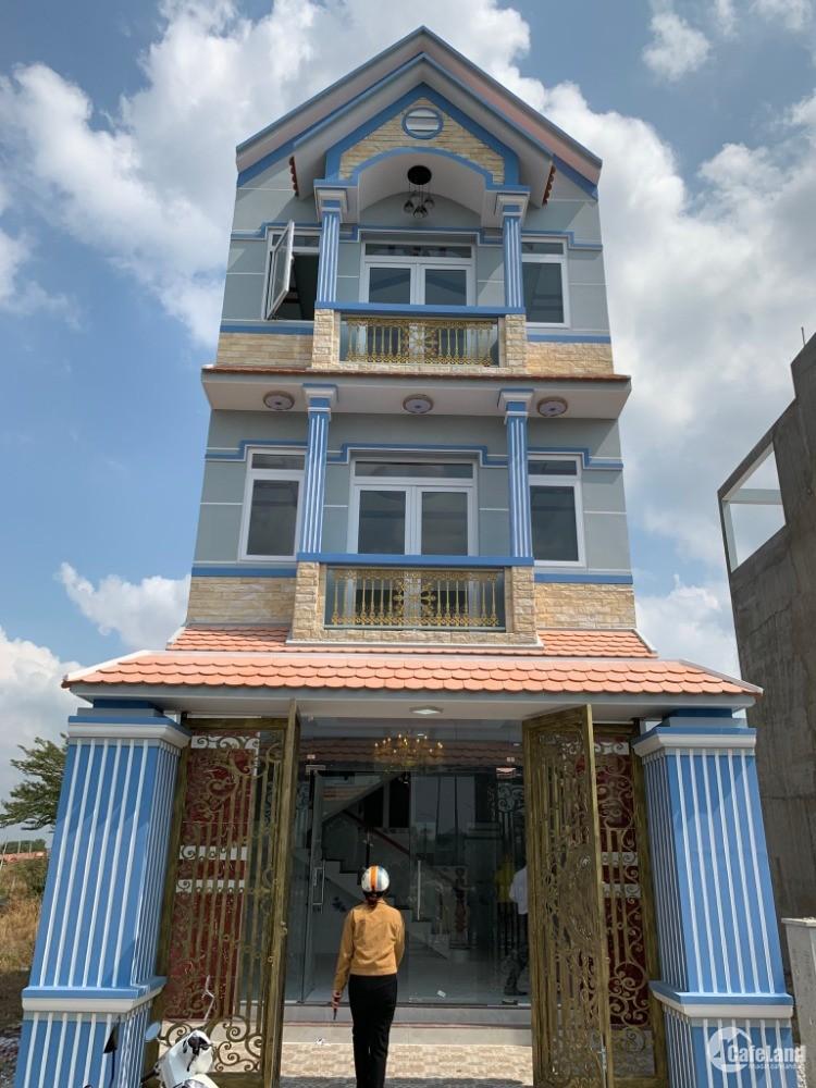 Bán gấp căn nhà xây sẵn 1 trệt 2 lầu ở mặt tiền đinh đức thiện