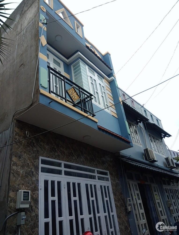 Chính chủ bán nhà 1 trệt 1 lầu ở Đặng Thúc Vịnh-Hóc Môn, Sổ hồng riêng, cần tiền
