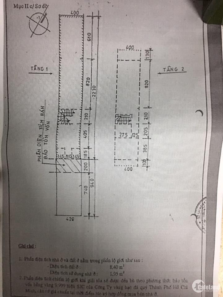Cần tiền bán gấp nhà MẶT TIỀN đường Trường Sơn phường 15 quận 10 SHR chính chủ