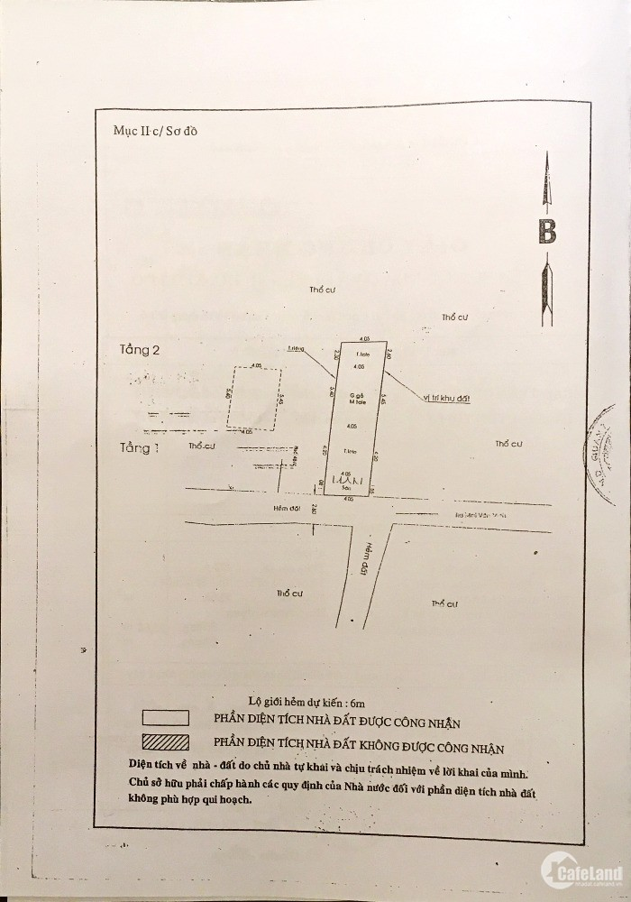 Bán nhà sau căn Mặt tiền Mai Văn Vĩnh - 1 Lầu - DT: 4,05 x 13,8 - Giá: 5,1 tỷ.
