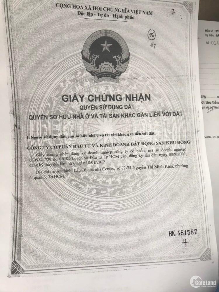 Bán nhà chính chủ tại KDC Nam Long, P. Phước Long B, Q. 9, TP. HCM