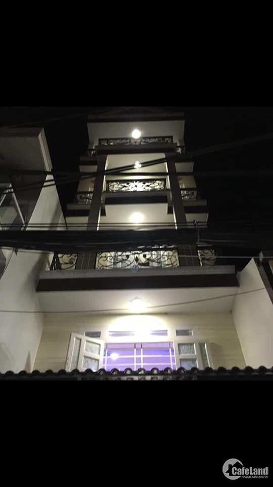 Mặt tiền kinh doanh, 4 tầng,4pn, HXH, Phú Nhuận,57m2