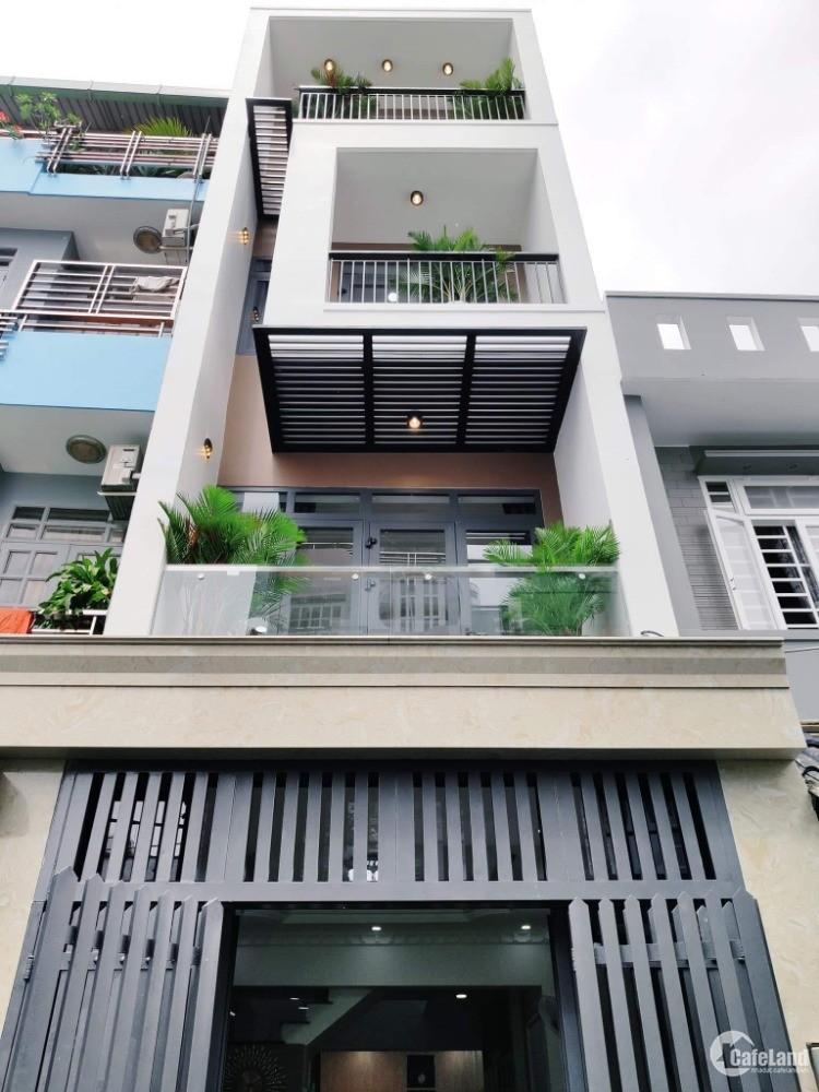 Nhà hẻm XH quá hót quá rẻ đâu tìm ra căn thứ 2, diện tích 45m2,4 tầng.5pn.