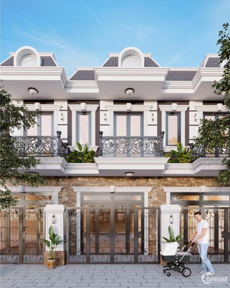 Nhà phố, shophouse liền kề ngay phường Tân Phước Khánh, TX Tân Uyên, Bình Dương
