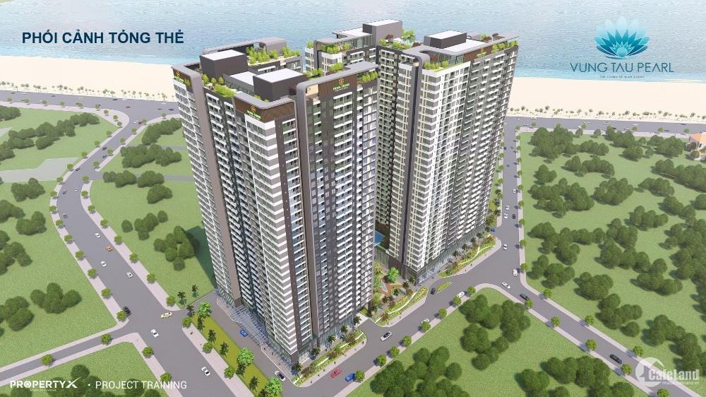 Dụ án căn hộ Vũng Tàu Pearl Hưng Thịnh giá 35tr/m2, chiết khấu 2-18%