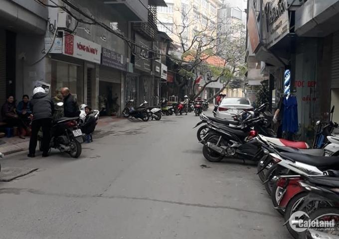 Bán nhà Nguyễn Thị Định 55m2, 5 tầng, ô tô vào nhà, lô góc, kinh doanh VP.