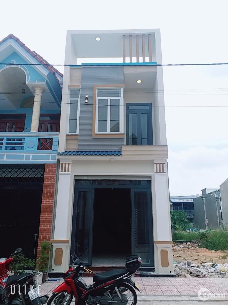 Bán nhà 1 lầu 1 trệt, 69m, sổ riêng , đường nhựa 12m, gần ngã tư chiêu liêu dĩ a