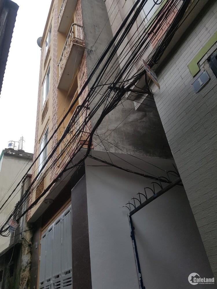 Nhà 5 tầng quận Hoàng Mai đủ đồ giá 1650tr SĐCC
