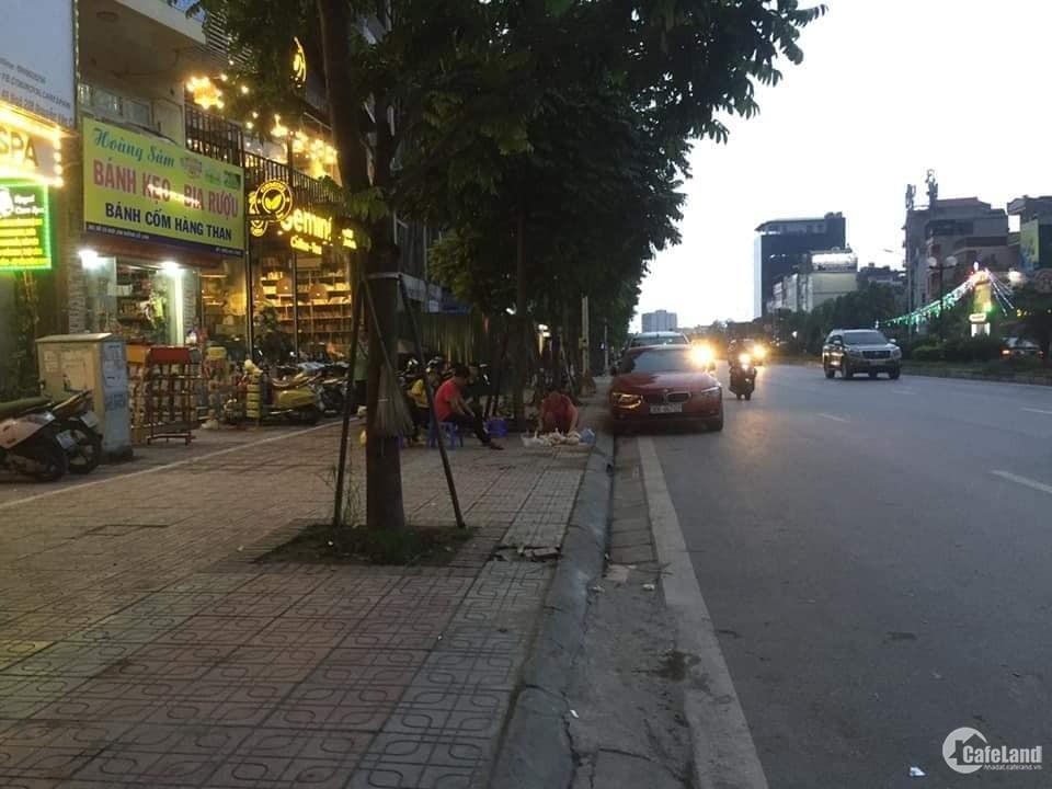 Nhà mặt phố Hồng Tiến, Long Biên 90mX7t, MT5,4m, giá 17,5 tỷ.