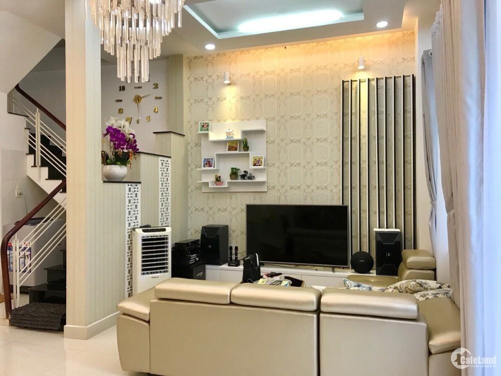 Bán nhà đẹp 2 lầu hẻm 719 Huỳnh Tấn Phát phường Phú Thuận Quận 7