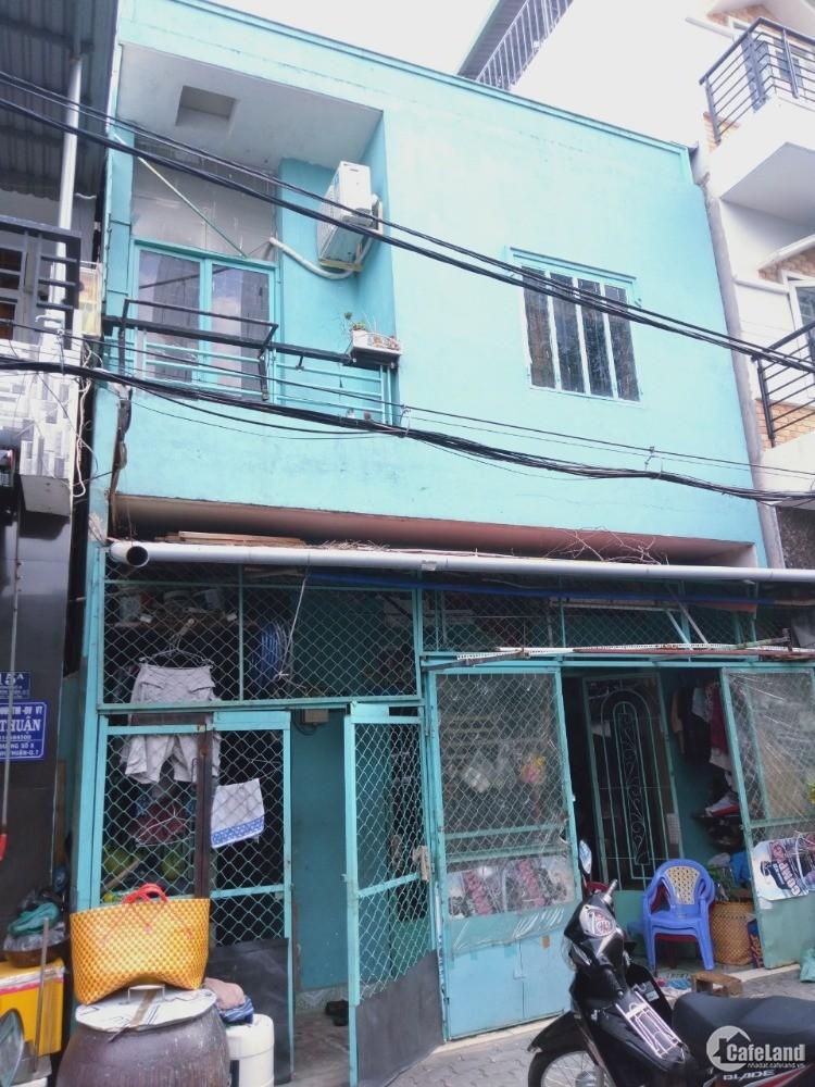 Bán nhà 75m2 tiện xây mới Mặt tiền ĐS Lý Phục Man Bình Thuận Quận 7