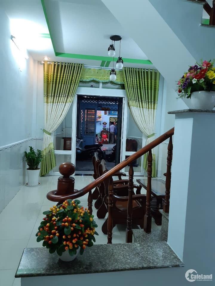 Bán nhà hẻm 130/19A/Lê Đình Cẩn,Tân Tạo,Bình Tân, 4x19M.1 Lầu Đúc