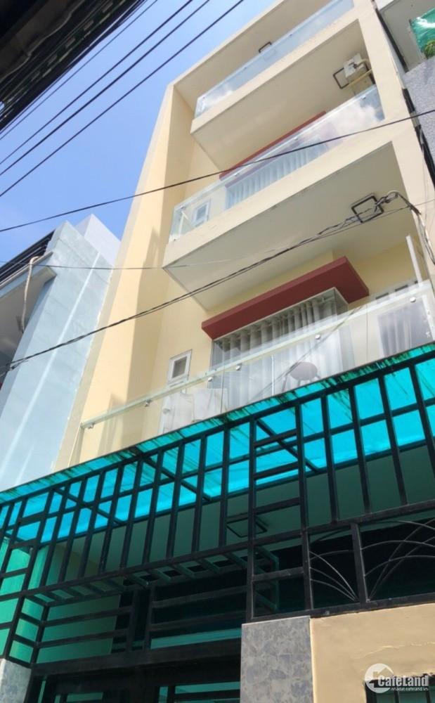 Bán nhà hẻm Quận Bình Tân. DT 4x9m, xây 3.5 tấm, SỔ HỒNG, giá 3.4 tỷ