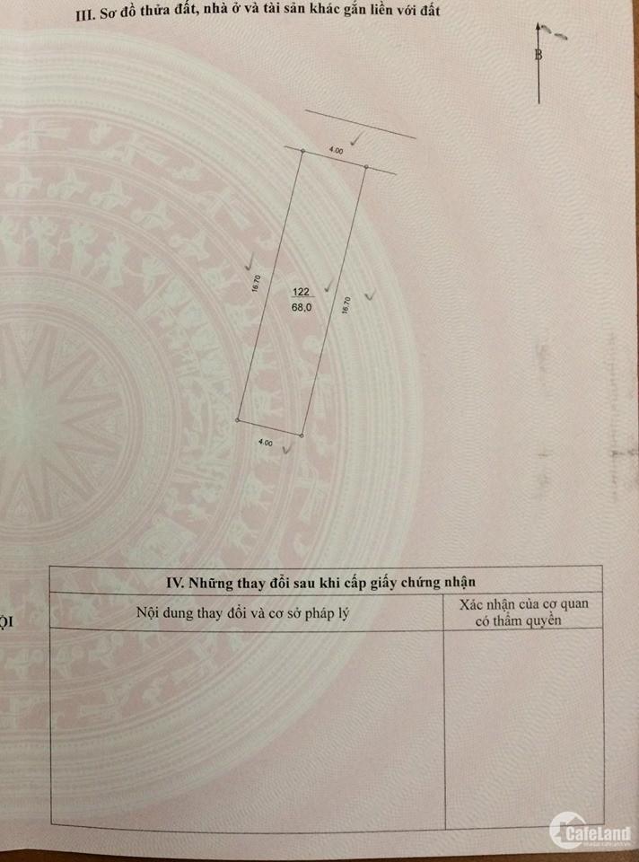 Đầu tư đất ngõ 192 Lê Trọng Tấn là có lãi. MT4m, Ngõ 3m, KD được, 5.3 tỷ (098210
