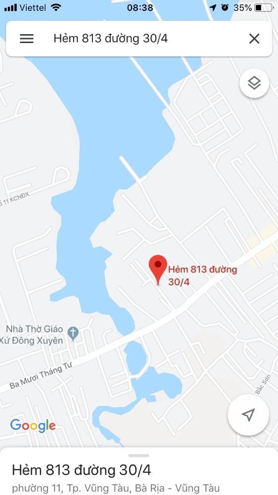 Chính chủ bán nhà cấp 4 hẻm 813 đường 30/4 thành phố Vũng Tàu