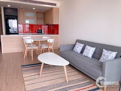 Cho thuê căn hộ cao cấp 2 phòng ngủ, đủ đồ, 71m2 tòa Skypark - 3 Tôn Thất Thuyết
