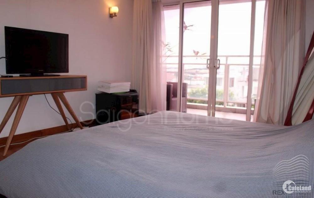 Cho thuê căn hộ River Garden 2 phòng ngủ- ban công lớn- đầy đủ nội thất và đẹp