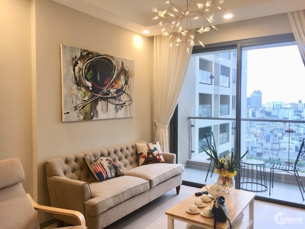 cho thuê căn hộ dự án Goldview 2 pn, 2wc 23trieu thang