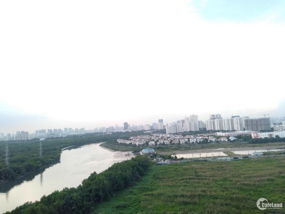 Belleza 80m2: 2PN + 2WC, có ít nội thất, view sông Phú Mỹ Hưng, 8triệu ở ngay