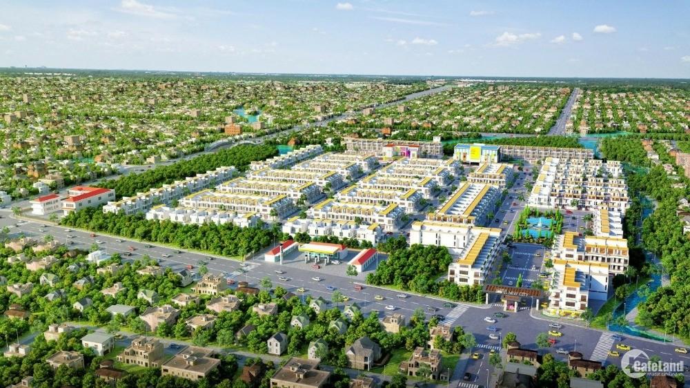 Đất nền mặt tiền Quốc lộ 50, SHR, TT thị trấn Cần Đước. Ngân hàng hỗ trợ vay 0%