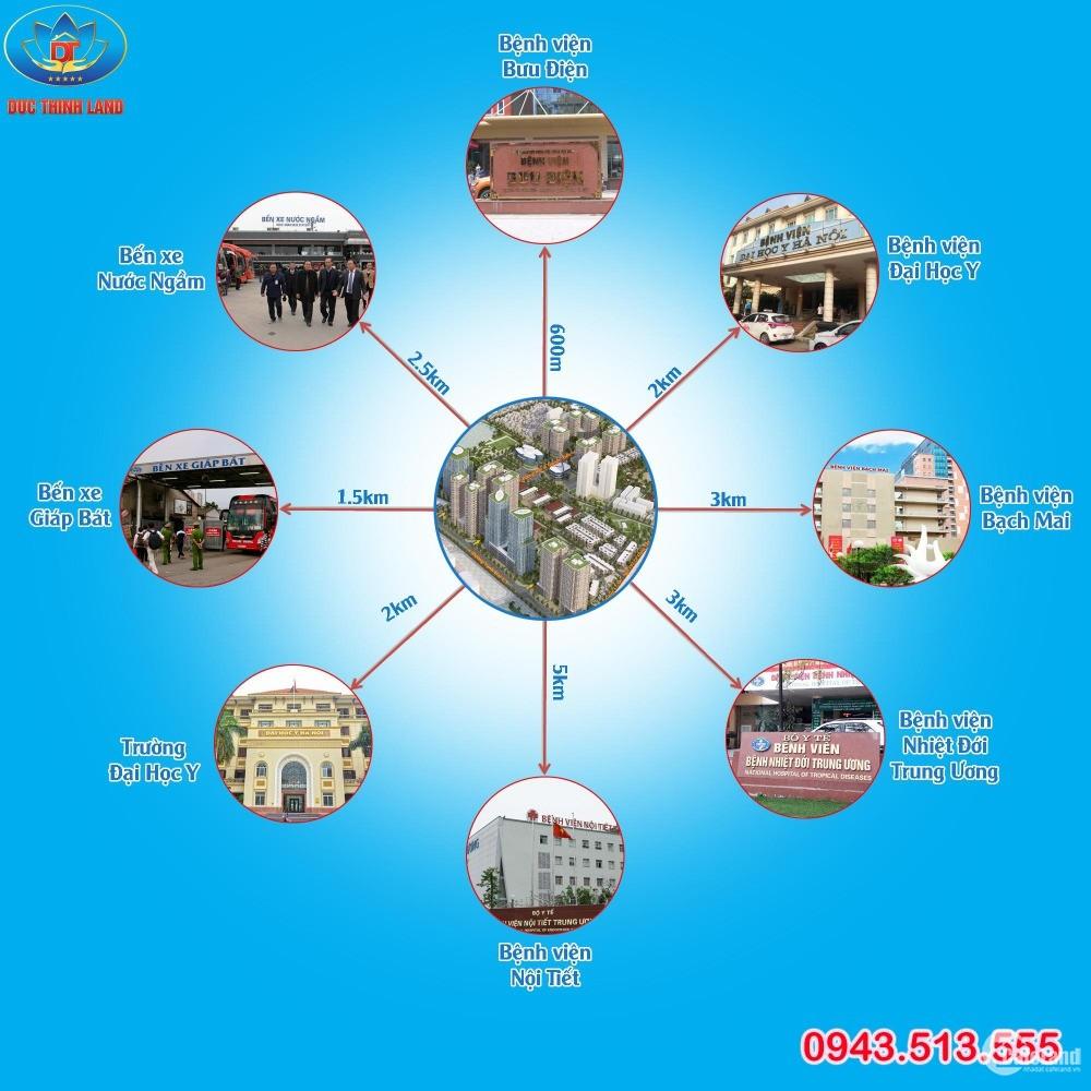 Bán Liền Kề - Shophouse DA  Đại Kim - Định Công vị trí đẹp giá rẻ - 0943.513.555