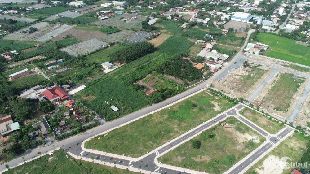 Chỉ 700 triệu sở hữu ngay 80m2, shr, thổ cư 100%, đường nhựa kdc Tân Phú Trung 2