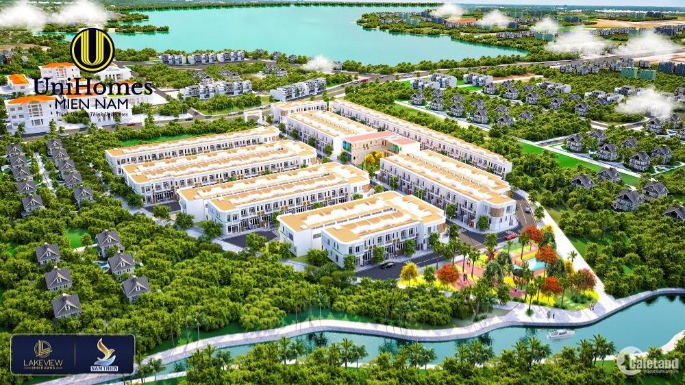 Lakeview Bình Dương - Đất nền Chợ Tân Uyên - Giá chỉ từ 620tr/80m2 - Ngay TTHC