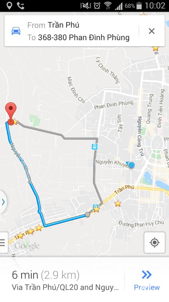 7x90 Nút Giao Thông Phan Đình Phùng + Nguyễn Tri Phương TP.Bảo Lộc
