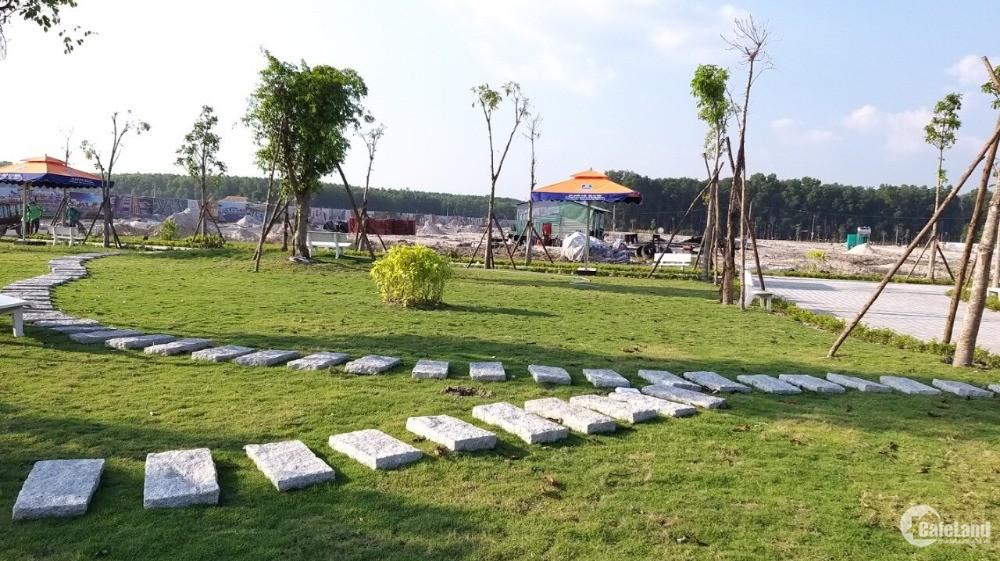 Đất Nền KCN - TTHC Bàu Bàng, Giá 240Tr/Nền/SHR/Thổ Cư 100%