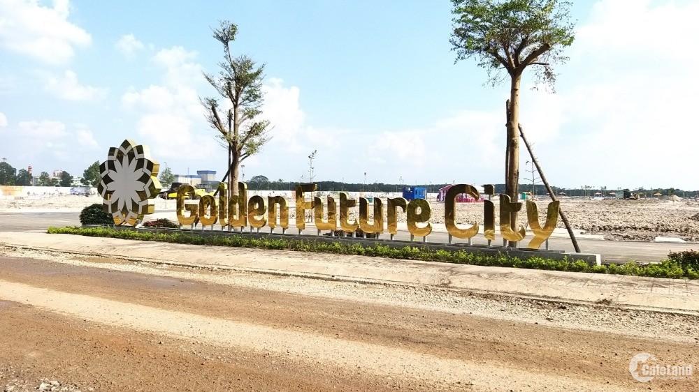 Đất nền giá rẻ KCN Bàu Bàng, Bình Dương - Golden Future City, giá chỉ 610 triệu