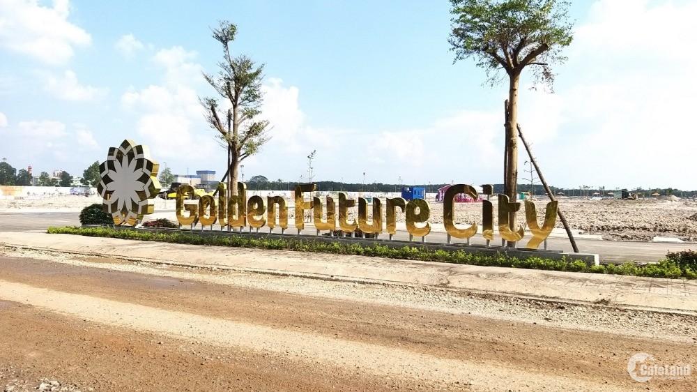 Mở bán dự án tại KCN Bàu Bàng Golden Future City chỉ 610 triệu đang nhận đặt chỗ