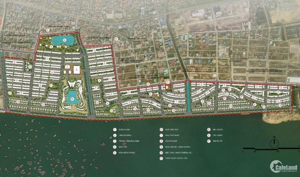 Green Dragon City kiệt tác siêu đẹp bên bờ vịnh Bái Tử Long