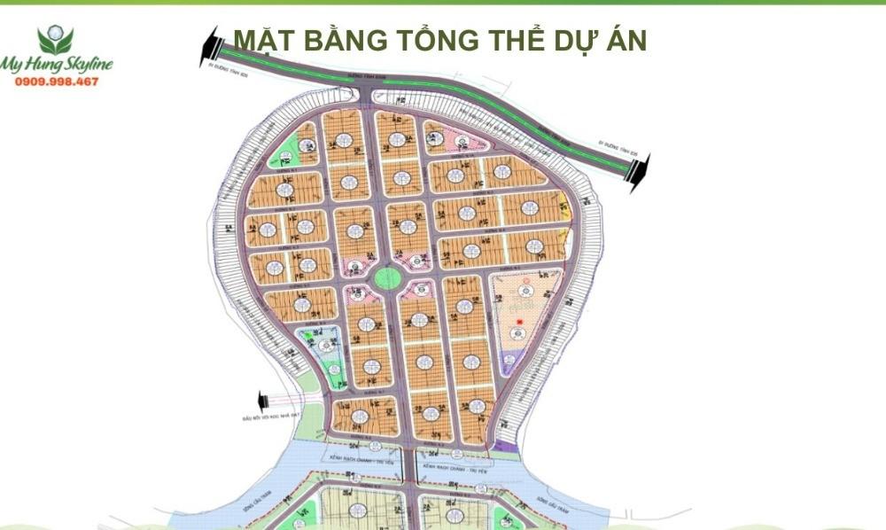 Mỹ Hưng Skyline - Dự án duy nhất có sổ riêng tại Cần Giuộc, Long An.