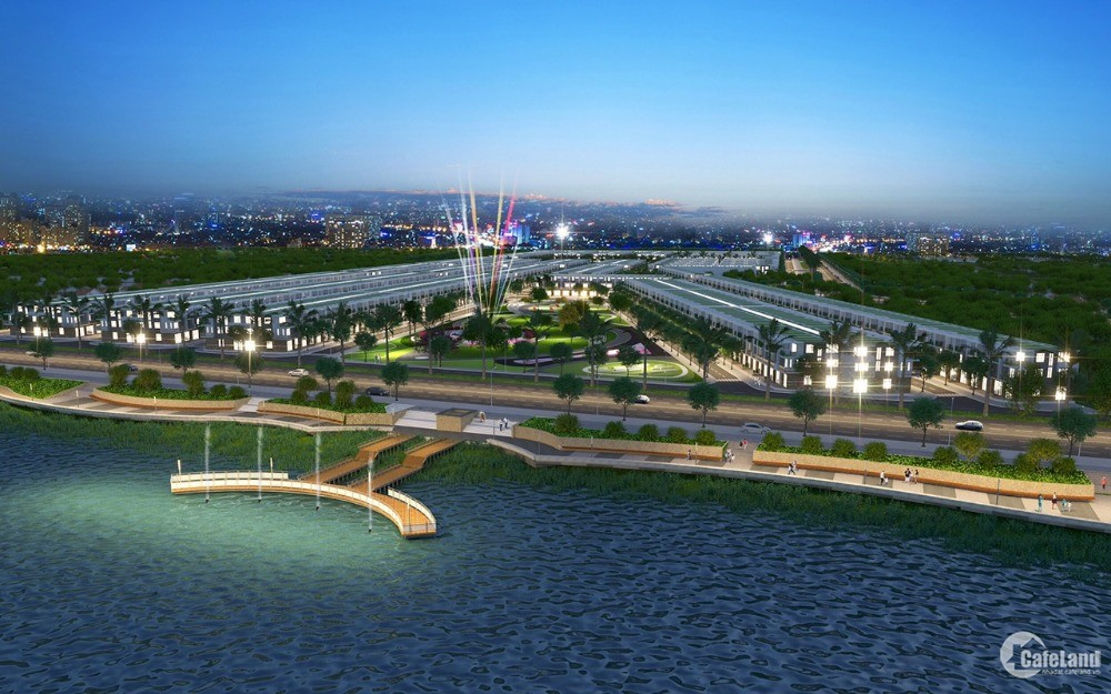 Bán đất nền DA Hiệp Phước Harbour View, Nguyễn Văn Tạo nối dài, Cần Giuộc