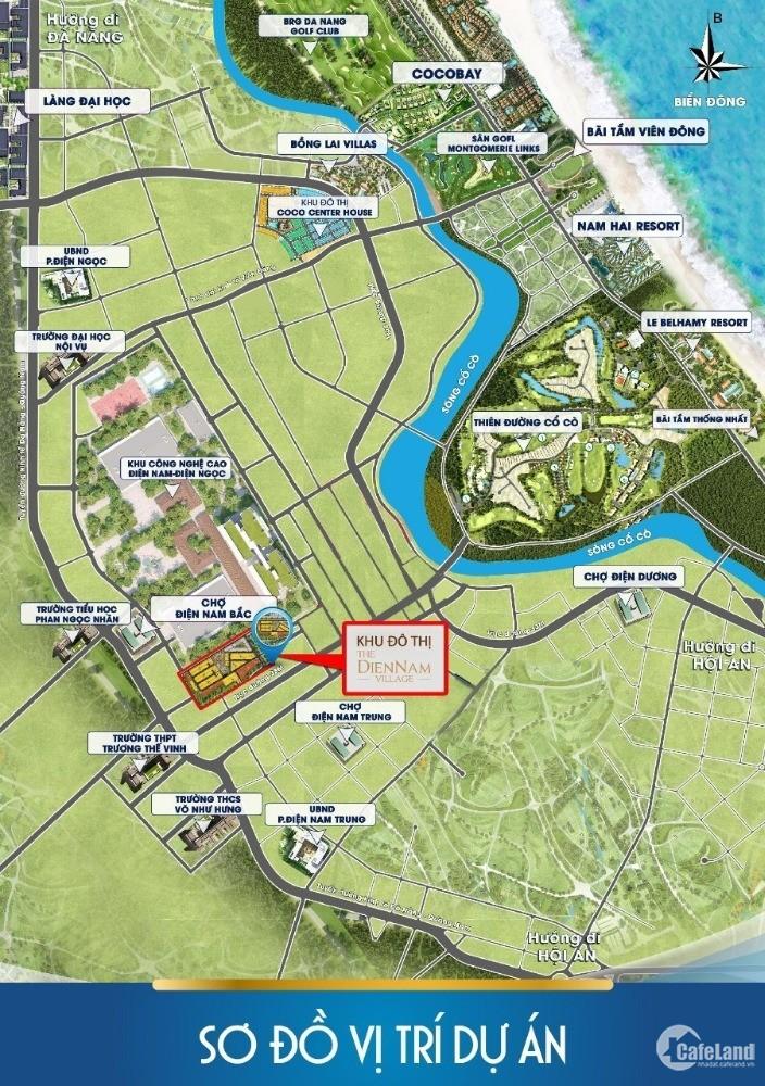Điện Nam Village cạnh KCN hạ tầng hoàn thiện 80% giá rẻ nhất thị trường, CK 11%