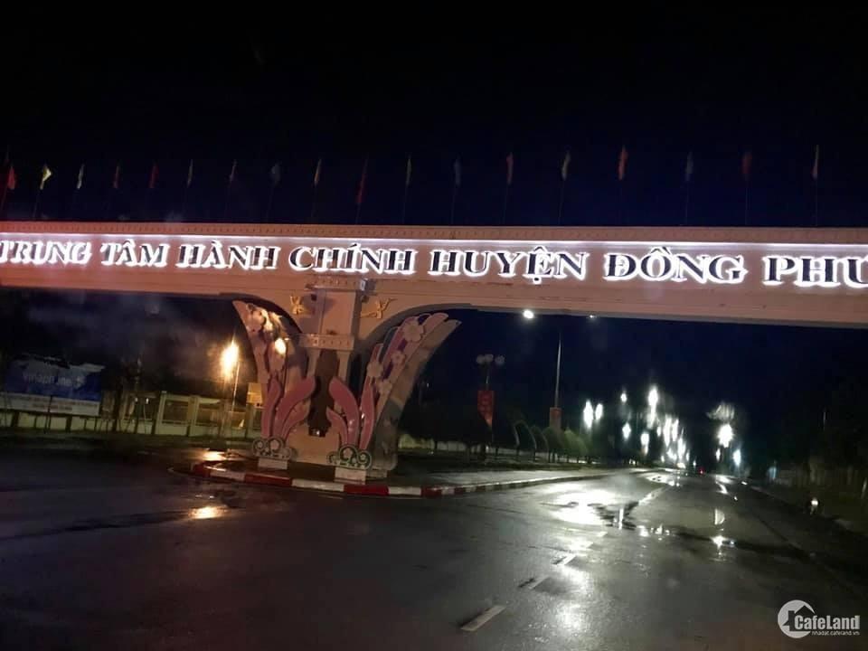 Bán đất ngay trung tâm hành chính huyện Đồng Phú, TT Tân Phú, tỉnh Bình Phước.