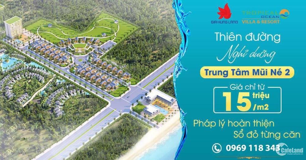 Đất Nền Biệt Thự Tropical Ocean Resort -  Nhận Ngay Siêu Phẩm