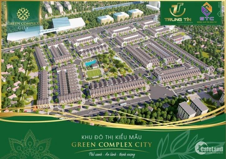Dự án Vip nhất Bình Định_GREEN COMPLEX CITY khu đất BT liền kề giá tốt