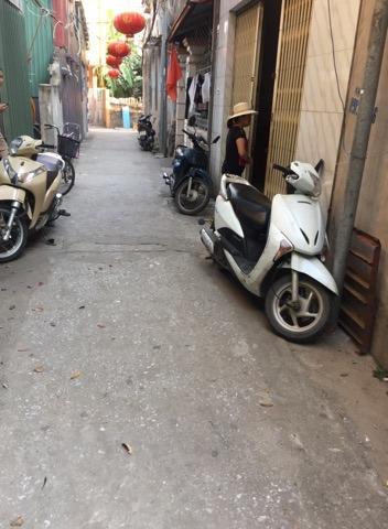 Bán đất DT: 43,7m2 ngõ 95 phố Thuý Lĩnh, phường Lĩnh Nam,Quận  Hoàng Mai