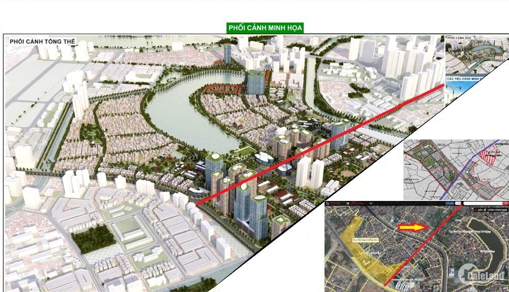 Đất nền Liền Kề, Shophouse Đại Kim - Định Công đường 13,5m giá 2,1 tỷ