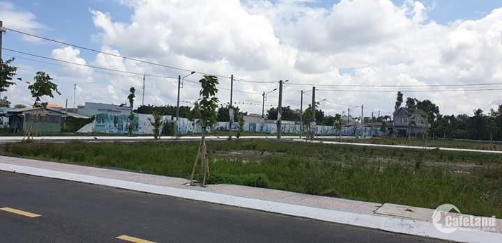 Bán đất mặt tiền đường mở rộng Ngã Tư Tân Quy, Củ Chi giá 799 triệu. LH:077 269