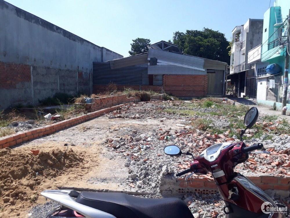 Bán lô đất sau chợ Nguyễn Văn Bứa,  Có Sổ Riêng Thổ cư