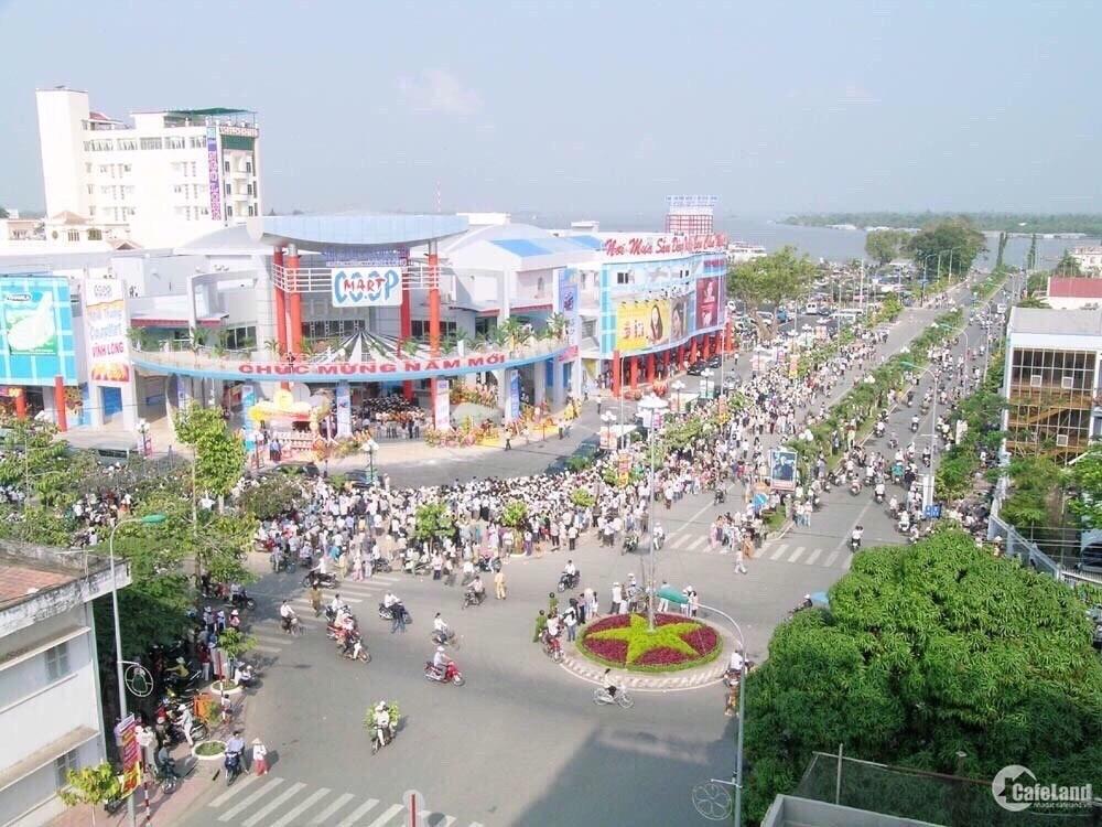 đất nền trung tâm tp Vĩnh Long số đỏ trao tay ,gần cầu Mỹ Thuận 2