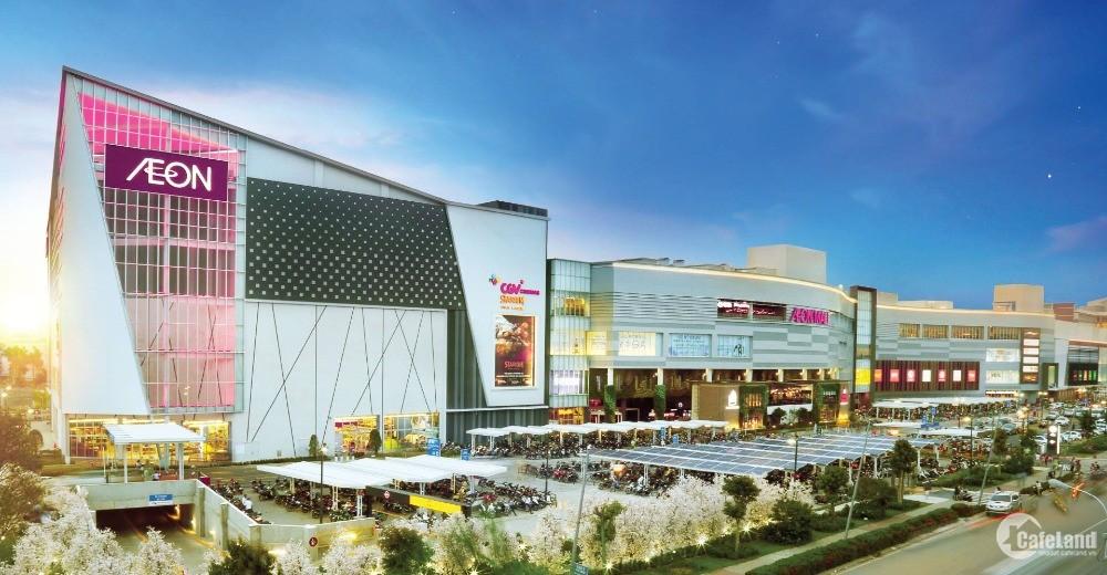 Nền ngay Siêu thị Aeon Mall, giá sốc CĐT - 1tỷ78, giá đầu tư - Giảm nhanh 50tr