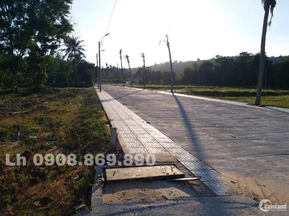 Bán Đất Trung Tâm Phú Quốc , Khu Vực Cây Thông Ngoài , Giá Sốc 620Tr/ Nền,