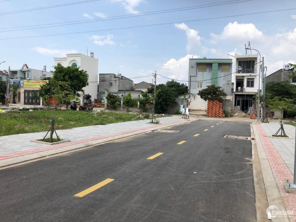 Bán gấp Lô Góc ngay KDC Nguyễn Văn Quá đường 12m Sổ hồng riêng LH: 0933732939
